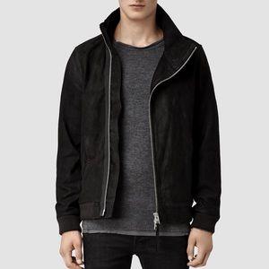 All Saints Sylar Leather Jacket